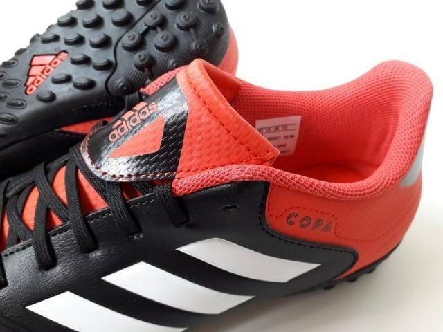 Chuteira Society Adidas Copa Tango 18.4 TF - Adulto