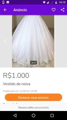Vestido de noiva princesa. - Foto 2