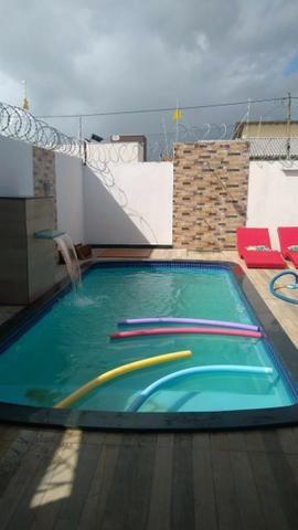 Casa nova com piscina para temporadas