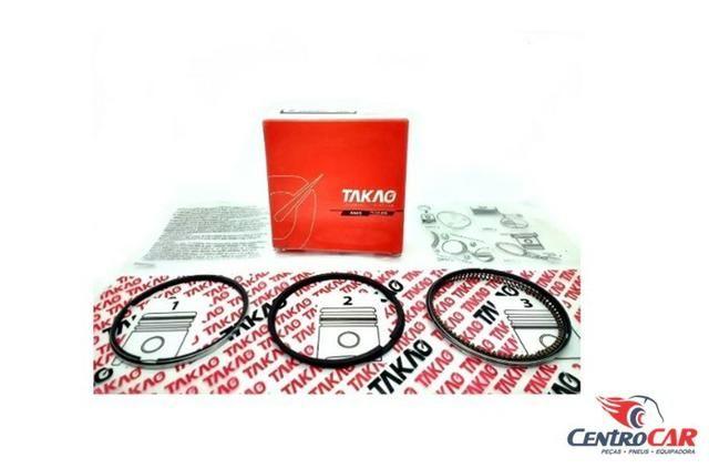 Jogo Anéis Hyundai Elantra I30 Tucson Sportage 2.0 16V 2001 até 2010 STD - Foto 2