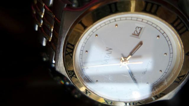 f160b51cab1 Relógio Natan masculino original cronógrafo em aço e ouro ...