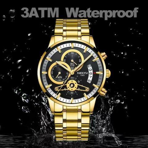 69e0a8e04ae Relógio Masculino De Luxo Original Funcional Promoção