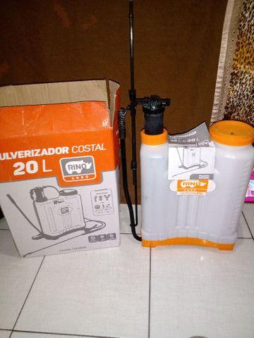 Vendendo pulverizador 20 Litros R$ 130  - Foto 2