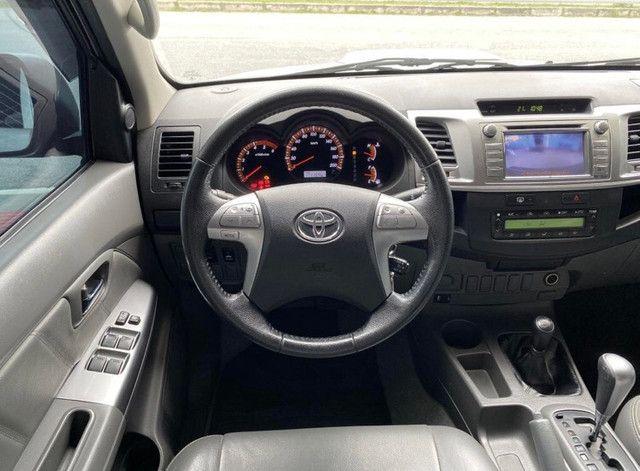 Toyota Hilux Hilux CD SRV D4-D 4x4 3.0 TDI Diesel Aut - Foto 6