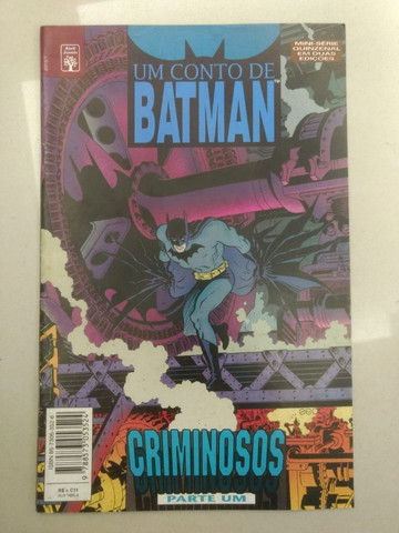 Batman - Um conto de Batman - Criminosos 2 ediçoes - Foto 2