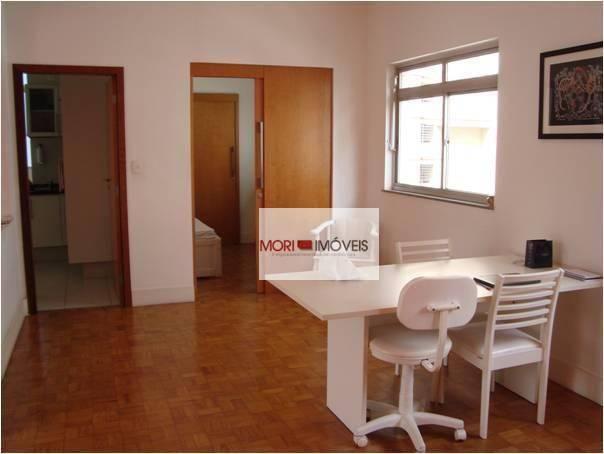 Apartamento com 4 dormitórios para alugar, 124 m² por R$ 4.700,00/mês - Cerqueira César -  - Foto 2
