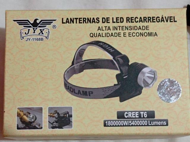 Lanterna de LED Recarregável - Foto 3