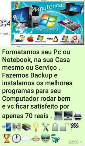 Formatação de Computador / Notebook  - Foto 6