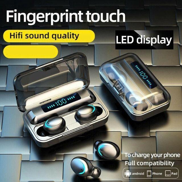 Fone De Ouvidos F9-5 Stéreo - Bluetooth 5.0 Binaural - Foto 5
