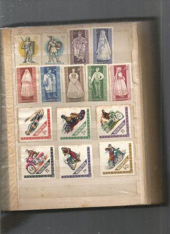 Álbum de selos húngaros - Foto 4