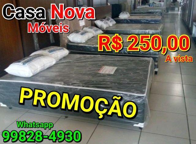 Vendo Cama Box Casal #250 Reais