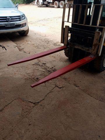 Alongador de lanças para empilhadeiras e lanças cilindricas. - Foto 5