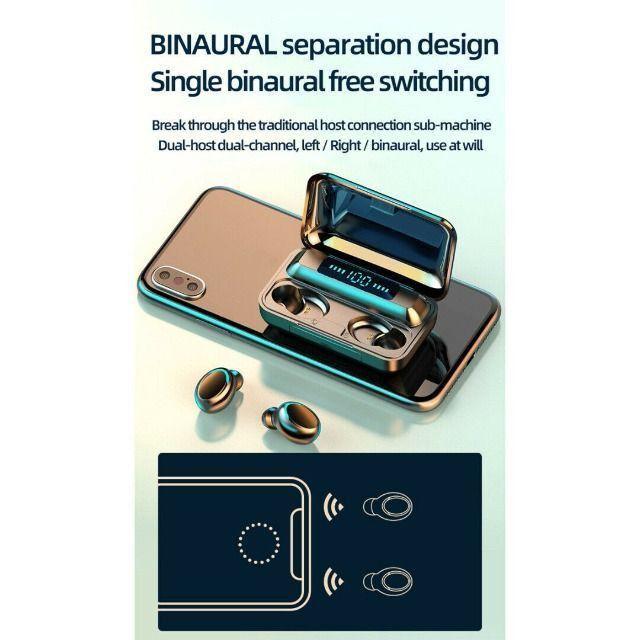 Fone De Ouvidos F9-5 Stéreo - Bluetooth 5.0 Binaural - Foto 4