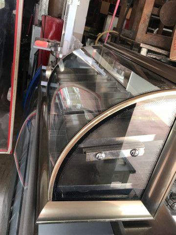Estufa omega vidro curvo 10 bandeijas - Foto 4