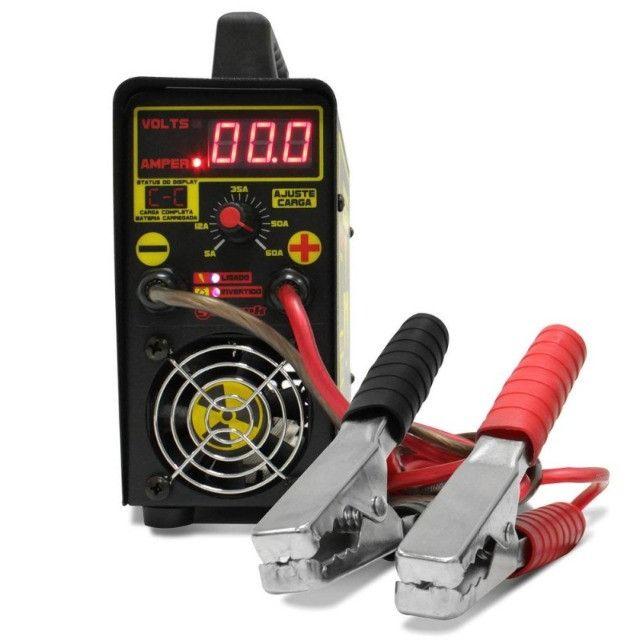 Carregador De Bateria Charger Profissional Usina Spark (60 amp / 12v) - Caruaru (PE) - Foto 4