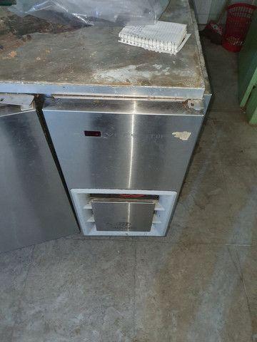Vendo Balcão Refrigerado inox no estado  - Foto 2