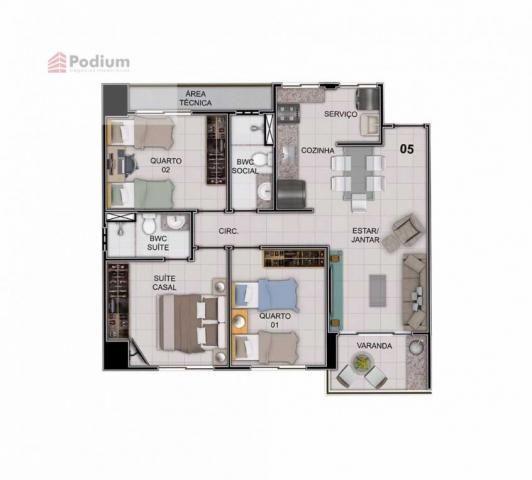 Apartamento à venda com 3 dormitórios em Estados, João pessoa cod:31808 - Foto 6