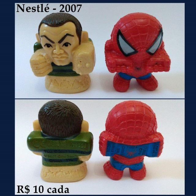Coleções Nestlé Kellogg's Parmalat brinquedos - Foto 2