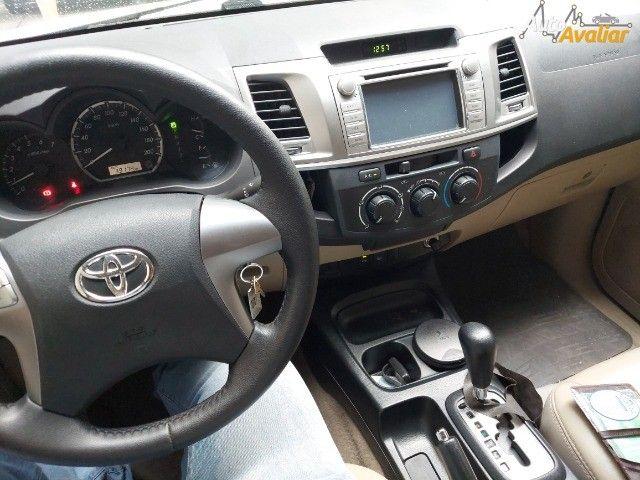 Toyota Hilux Sw4 Flex automática 5 lugares!!!! Extra de verdade !!! Sheila - Foto 8