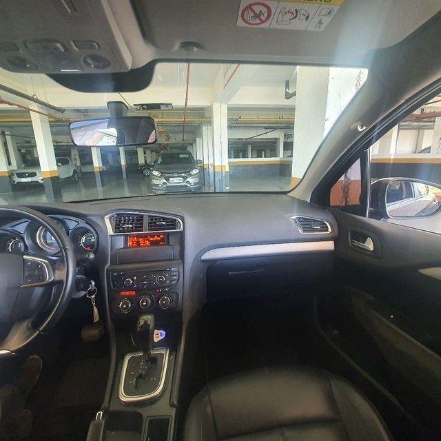 Citroen C4 Lounge Origine 2.0 2016 Preto * ACEITO MOTO DE MENOR VALOR NA TROCA - Foto 11