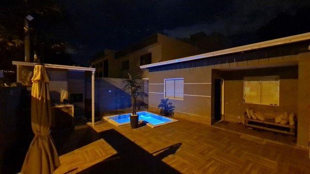 Vendo casa linear R$ 410.000,00 em condomínio Vargem Grande - Foto 4