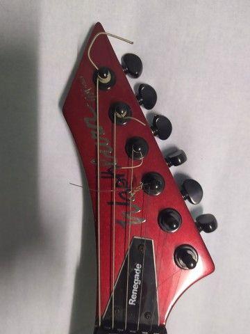 Guitarra Washburn - Wm24vmr Ponte Floyd Rose R$ 2.999,00 - Foto 6
