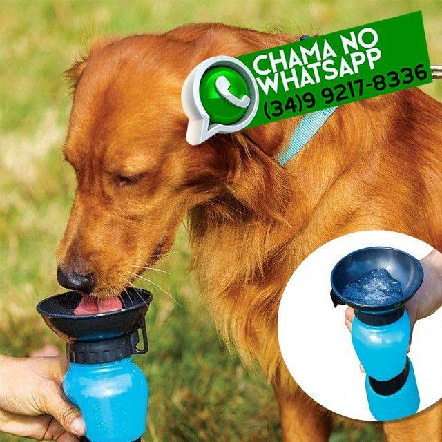 Garrafinha Bebedouro Portátil para Pet Cachorro Gato * Fazemos Entregas