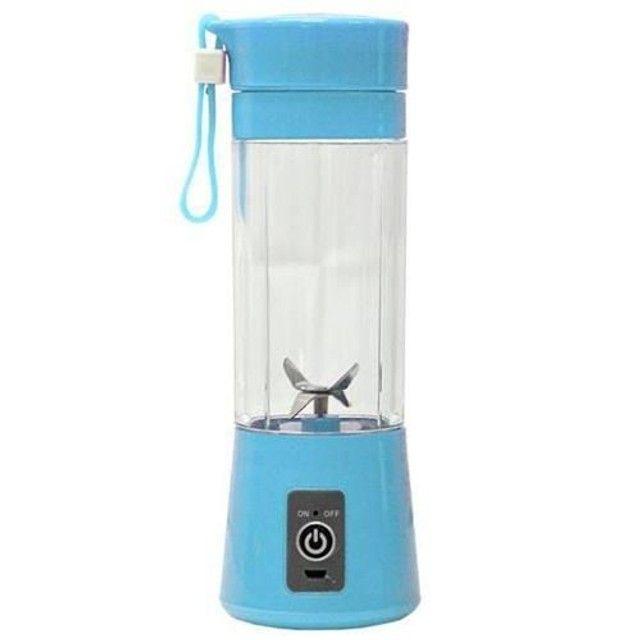 Mini Liquidificador Portátil Shake Juice Cup e Cabo Usb<br><br> - Foto 2