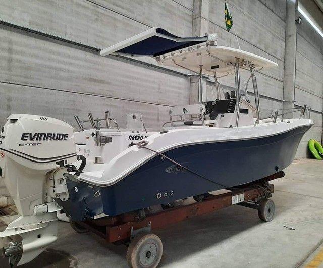 Fishing 265 Ano 2013 x1 Evinrude E-TEC 250 HP não Victor Fishirmam Casbrasmar