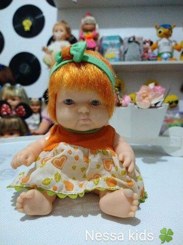 Boneca bebê frutinha cotiplas