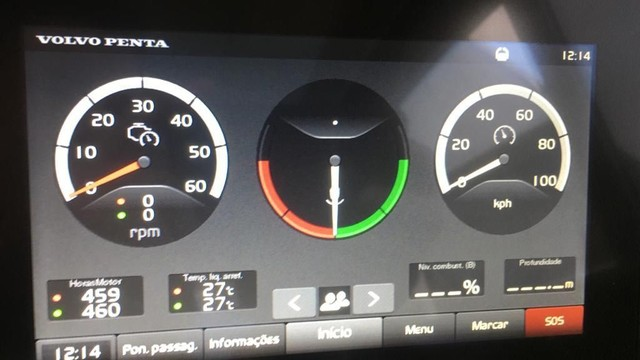 Phantom 510 Fly Ano 2018 x2 Volvo IPS 600 não Azimut Intermarine Triton Sessa - Foto 19