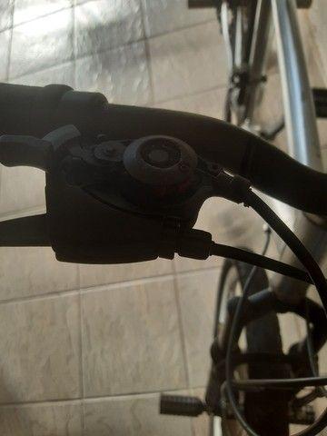 Bicicleta aro 26 aluminio roda aero cubo - Foto 5