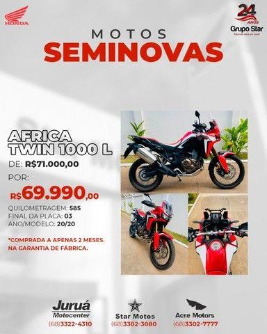 África Twin 1000L 2020 ZERO!!