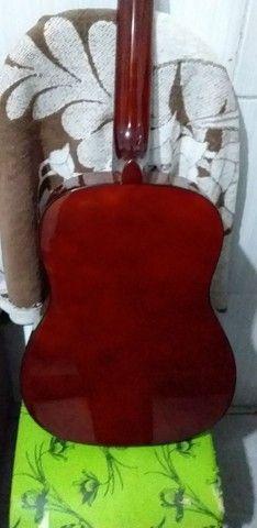 Vendo ou troco violão vogga novo  - Foto 5