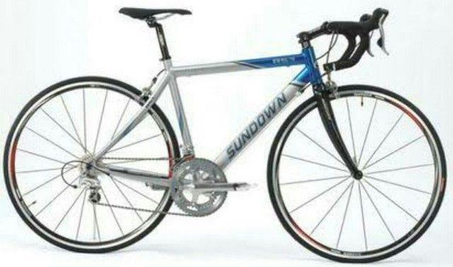 Bike Speed Sundown Competição - Shimano Tiagra - Garfo Fibra de Carbono - Super Nova - Foto 2