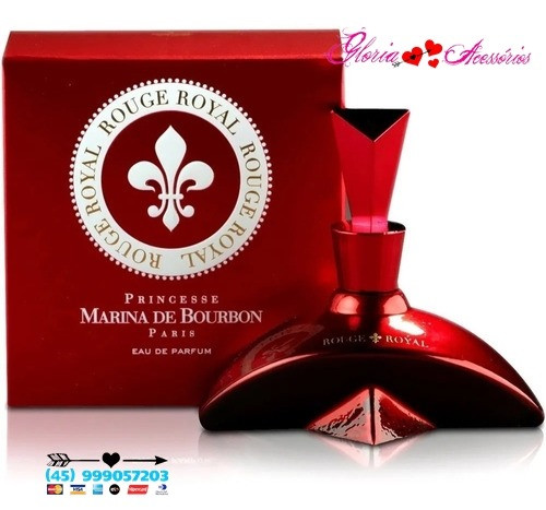 Rouge Royal 100ml Marina De Bourbon Original - Foto 4
