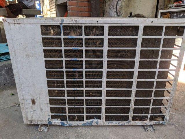 Condensadora 24.000 btu's serpentina de cobre R$400  - Foto 3