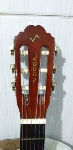 Vendo ou troco violão vogga novo  - Foto 3