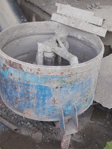 Kit fábrica de blocos de concreto
