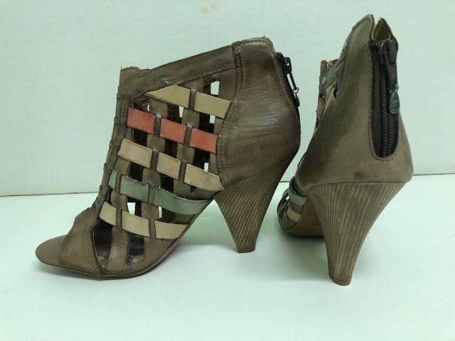 Colore Sapato Todo em Couro - Foto 3
