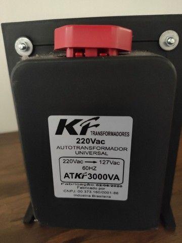 Transformador 220 Vac 3000VA
