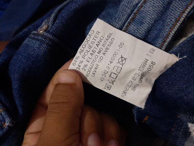 Calça jeans, número 36, APENAS 40 REAIS - Foto 4