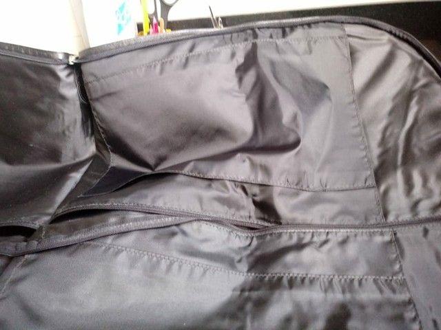 Porta terno de couro - Foto 3