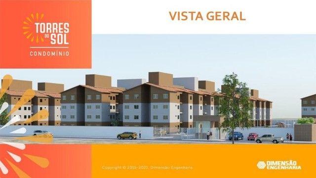 construção dimensão// apartamento, torres do sol- 2 quartos - Foto 4