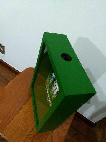 Caixa porta rolhas e porta tampinhas - Foto 2