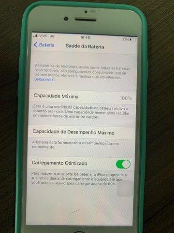 iPhone 8 64gb bateria em 100% com todos os acessórios  - Foto 4
