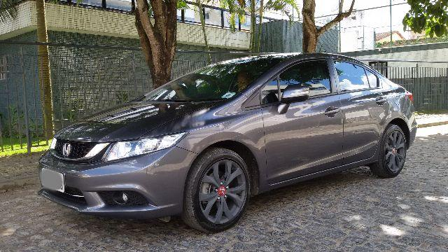 Honda Civic Lxr 2.0 Flex One 2016 At Único Dono Impecável