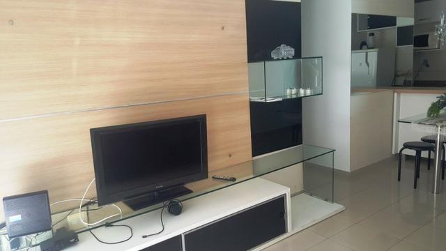 Na Beira do Cabo Branco com 2 quartos todo projetado e mobiliado - Foto 12