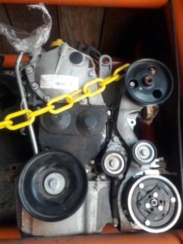 Motor parcial Logan/Sandero 1.6 8v