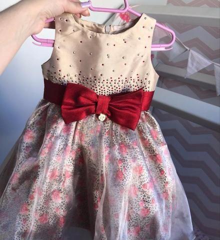 5fcc15192 Vestido de festa 2 a 4 anos (Petit Cherie) - Roupas e calçados - St ...